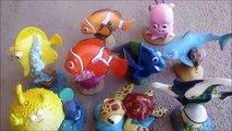 Animaux attaque bain doris découverte apprentissage des noms fantoche Mer requin jouets vers le haut en haut vent Disney Nemo