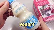 Banane crème bricolage Comment de la glace faire faire Lait ré fraise à Il Faire la crème aux fraises banane lait cuisine couleur maison de jeu de jouets