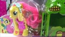 Para Mayo de juguetes Little Pony opinión Fluttershy desembalaje gran sorpresa para jugar el juego de