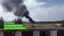 Russie : deux morts dans un accident d'avion lors d'un meeting aérien