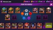Patron finale légendes quête adolescent tortues contre Krang vision ninjas mutant ninja tmnt lege