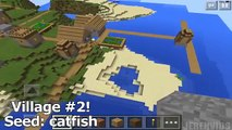 Minecraft PE - Top 5 SEEDS ! MANSION AT SPAWN, END CITY