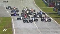 Grand Prix d'Italie - Le premier tour du Grand Prix !