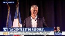 """""""Et en même temps"""". Wauquiez ironise et fustige """"la duplicité"""" de Macron"""