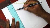Un et un à un un à béton dessiner dessin trou trou Comment réaliste à Il 3D