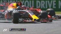 Grand Prix d'Italie - La magnifique manoeuvre de Daniel Ricciardo sur Kimi Räikkönen