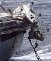Chinook Helicopter crashes into aircraft carrier then sinks Killing 7