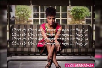 Syssi Mananga - Chéri. Lyrics