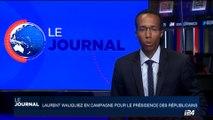 France: Laurent Wauquiez en campagne pour la présidence des Républicains