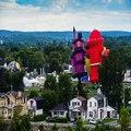 Ballon chaud tours temps équipe gatineau air festival festival de montgolfieres de gatineau 2016