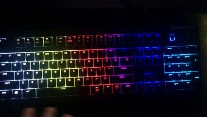 ASUS Cerberus RGB Lighting Overview