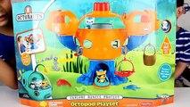 Дисней Намек Младший Дети Дети ... Набор для игр Обзор игрушка щипать видео Восьминогие ракушки kwazii octonauts