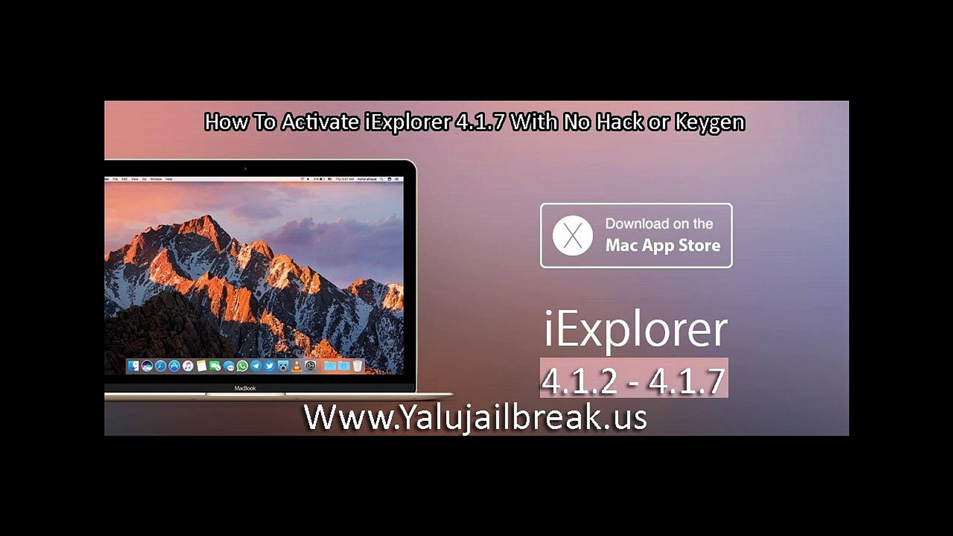 How To Activate iExplorer 4 1 7 With No registration code 2017