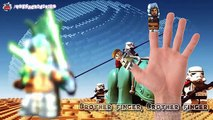 La famille doigt Paroles garderie rimes étoile guerres lego