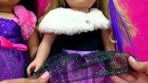 Américain fille poupée content anniversaire tenue vêtements mon vie comme petit gâteau boulanger examen
