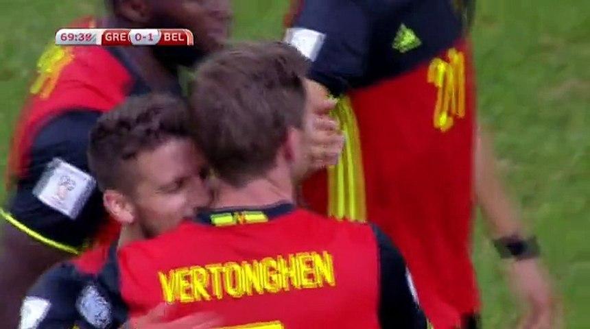 Vertonghen  Goal HD - Greece0-1Belgium 03.09.2017