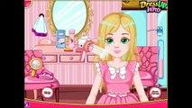 Soins contrôle des jeux fille cheveux les poux beauté films vidéo Barbie |