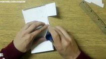 Caja dulces Bricolaje regalo apertura papel cuadrado Origami kawaii
