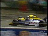 Gran Premio di Gran Bretagna 1990: Ritiro di Patrese e sorpasso di Mansell a Berger