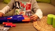 Gros garçons Double pour amusement amusement grande pistolet la grève le le le le la jouet jouets Nerf disneytoysreview channe