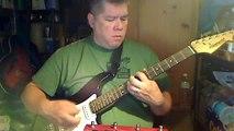 Me attempting a cover for Fozzy's Judas (Fender Starcaster, Fender SP-10 Amp, Line6 AM4 modeler)