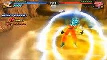 Balle Bleu glacière Dieu dor métal contre avec Vegeto super saiyan dragon budokai tenkaichi 3 mod