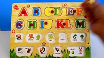 Enfants Anglais pour Apprendre préscolaire enfants pour Abc lettres-alphabets puzzle aнглийскй