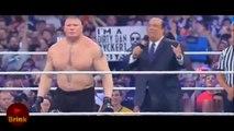 BROCK LESNAR DESTROYS DEAN AMBROSE, ROMAN REIGNS VS BROCK VS AMBROSE - WRESTLEMANIA - WWE Wrestling - Sports MMA Mixed Martial Arts Entertainment