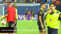 Neymar et Gabriel Jesus, leur échauffement de dingue avec le Brésil (vidéo)