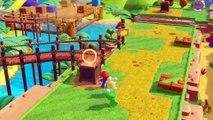 Mario Rabbids Kingdom Battle [ Trimmed to 2 GB for Dailymotion (end) Full on www.youtube.com/watch?v=EcU2Frr1SUA ] Lapins Crétins, Ancient Gardens, Mario, Rabbid Peach, Rabbid Luigi, turn-based combat, Nintendo Switch
