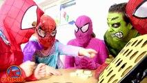 Spiderman cats! Spider-man & HUGE CAT dream pets! Bad Baby Pink Spidergirl Joker Hulk Fun Superhero