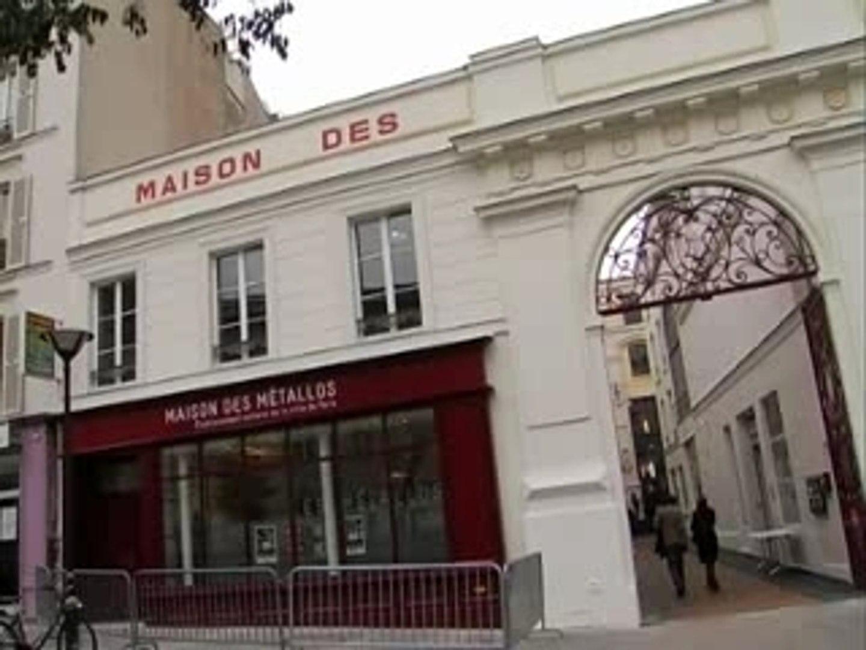 Re Ouverture De La Maison Des Metallos Video Dailymotion