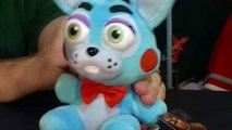 FUNKO POPS FIVE NIGHTS AT FREDDYS FNAF AND WAVE 2 EXCLUSIVE PLUSH UNBOXING