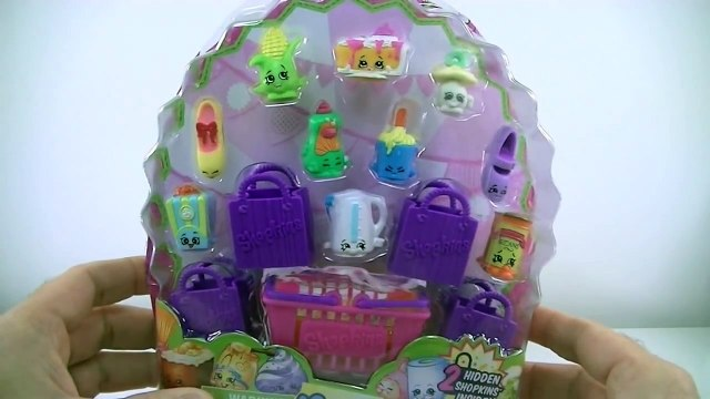 GIANT Shopkins Season 2 Play Doh Surprise Egg|Ultra Rare Crystal Glitz Fluffy Baby Shopkins Baskets