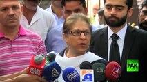 Asma Jahangir Replying to ISPR Press conference ( Khamoshi ki Zuban)