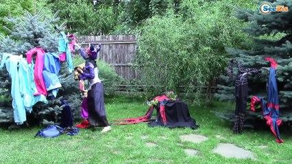 FROZEN ELSA GOT HURT! Magic Show Accident! w/ Spiderman, Batman, Hulk and Pink Spidergirl