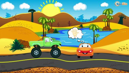 The Police Car + 1 Hour kids videos compilation   Service & Emergency Vehicles   Trucks for children