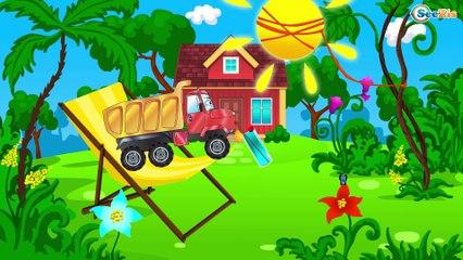 Dessin animé en français pour enfants Le Camion Curieux - apprendre les couleurs avec Le Camion