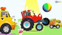 Carritos - Tractores infantiles -  Videos para niños en español - Vehículos Agrícolas