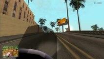 GTA San Andreas - Jogando na Visão em Primeira Pessoa (Mod Insano)