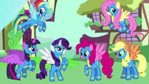 MY LITTLE PONY Transforms Mane 6 Into CRYSTAL PONIES WONDERBOLTS | Coloring Videos For Kids