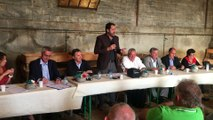 Alpes-de-Haute-Provence : Christophe Castaner défend l'élevage