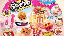 ★Shopkins Beados: Fast Food Diner★ Beados Shopkins Fast Food Activity Set Kids Crafts Toys Video