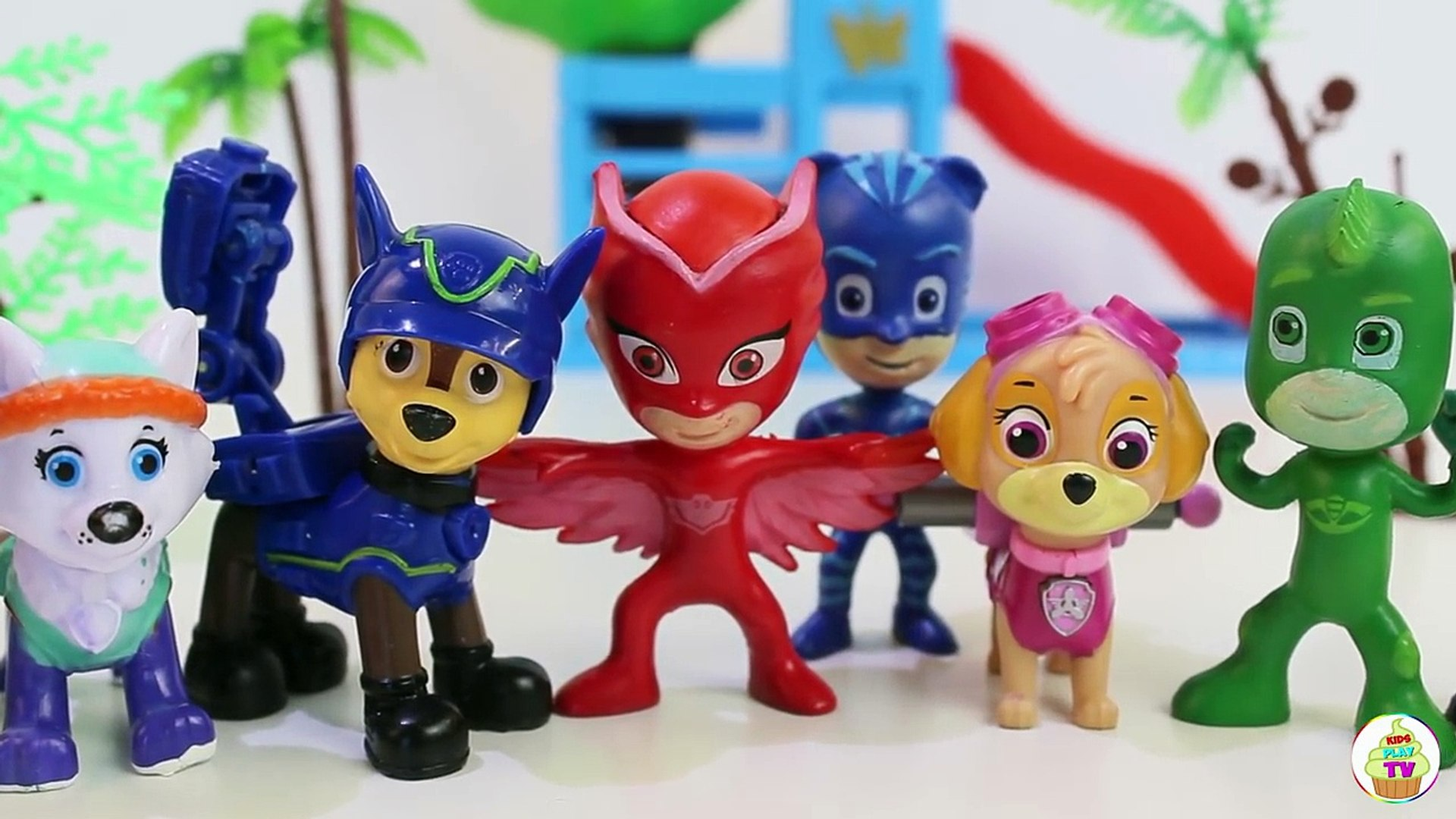Щенячий патруль новая серия Развивающие мультики учим Овощи и Фрукты игрушки Герои в масках Мультики