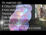 QUADRO DE FOTOS COM DVD, SUPER FACIL E CHARMOSO