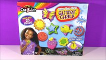 Cra-Z-Art DIY GLITTER Chalk! Mix & Make Your Own Chalk with Dye & Glitter! FUN