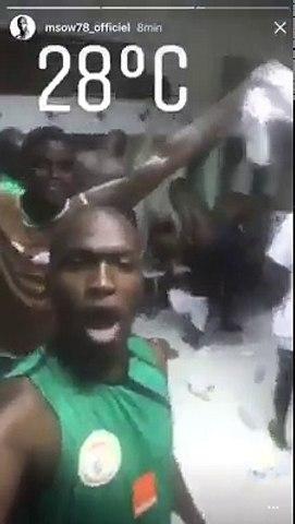 (VIDEO) La joie de Mbaye Niang après la victoire des lions!