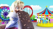 Maşa İğneden Korkuyor Maşa Dondurma Yiyor - Maşa Barbie Türkçe Çizgi Film