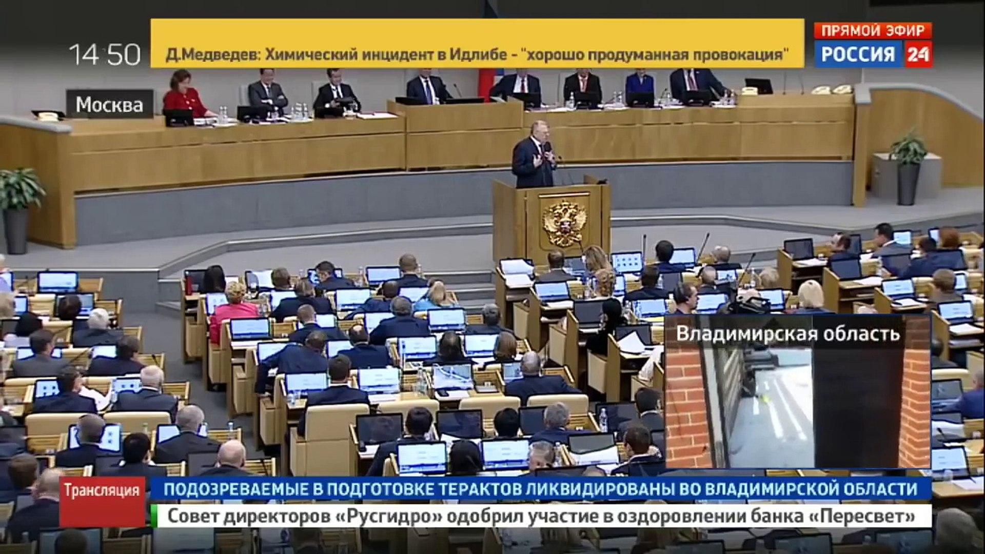 Медведев МОЛЧА слушал ПРАВДУ от ЖИРИНОВСКОГО!НОВОЕ