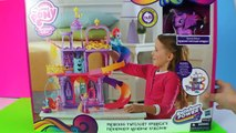 My Little Pony Applejack Bakes Pinkie Pie a Birthday Pie with Shopkins and more